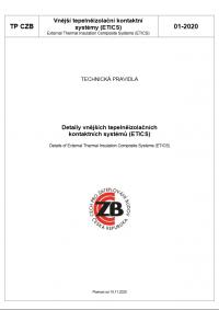 Detaily vnějších tepelněizolačních kontaktních systémů