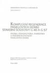 I/4 Komplexní regenerace stavebních soustav G 40 a G 57