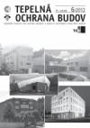 Tepelná ochrana budov 2012, 15. ročník