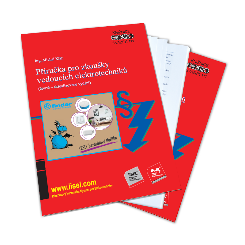 Příručka pro zkoušky vedoucích elektrotechniků (4., aktualizované vydání)